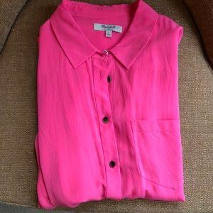 Tops - Madewell 100% silk blouse